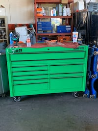 Matco toolbox full of tools