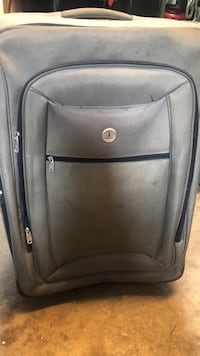 black and gray luggage bag Mississauga, L4X 2K4
