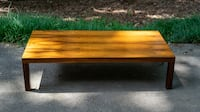 MCM Danish Low Rosewood Coffee Table by Centrum Mobler Charlotte