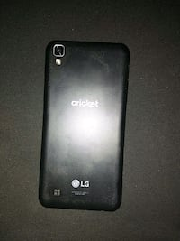 black LG xpower android smartphone with charger  Marion, 49665