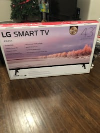 "LG smart TV 43"" -- brand new in box  Surrey, V3T 2W5"