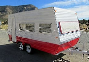 1978 Vintage Camper Classic Travel Trailer Great condition inside and out.