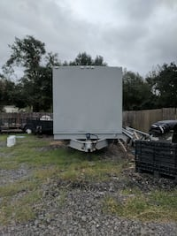 8x30 old Goodwill drop off trailer