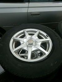 Size 215 70 R15 rims and tires selling for $200 Sweet Home, 97386