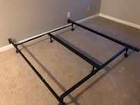 black metal bed frame with gray metal bed frame 盖瑟斯堡, 20878