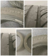 225/45/18 - 2 almost NEW ALL TIRES Mississauga, L4V 1C8
