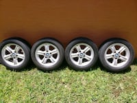 """BMW 16"""" Wheels and Continental Tires West Palm Beach, 33411"""