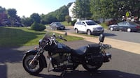black and gray touring motorcycle DUMFRIES