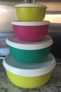 Brand new Tupperware Bowls Set of 4 Brampton, L6T