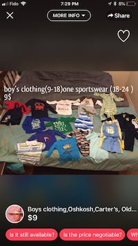 Baby  assorted clothes