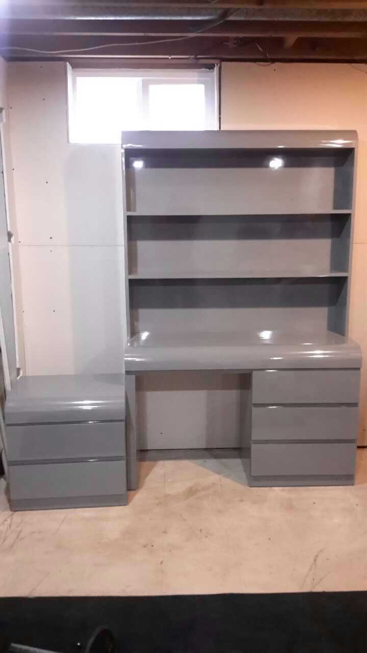 Charming Boys Grey Formica Bedroom Set In Howell   Letgo