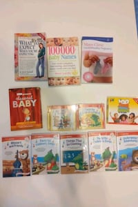 Baby items - CDs and DVDs and books  Fairfax, 22031