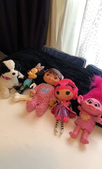 Battery operated dolls and a  walking barking pup Woodbridge, 22193