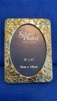 3X4 silver plated picture frame Somerset, 15501