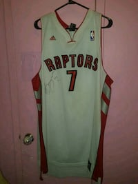 Signed by bargnani. Price tags Still on jersey Toronto, M4X 1M2
