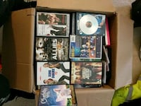 A box of DVD movies over a 100  movies  Temple Hills, 20748