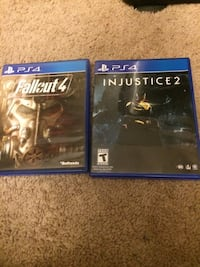 Ps4 games injustice and fall out 4 Annandale, 22003