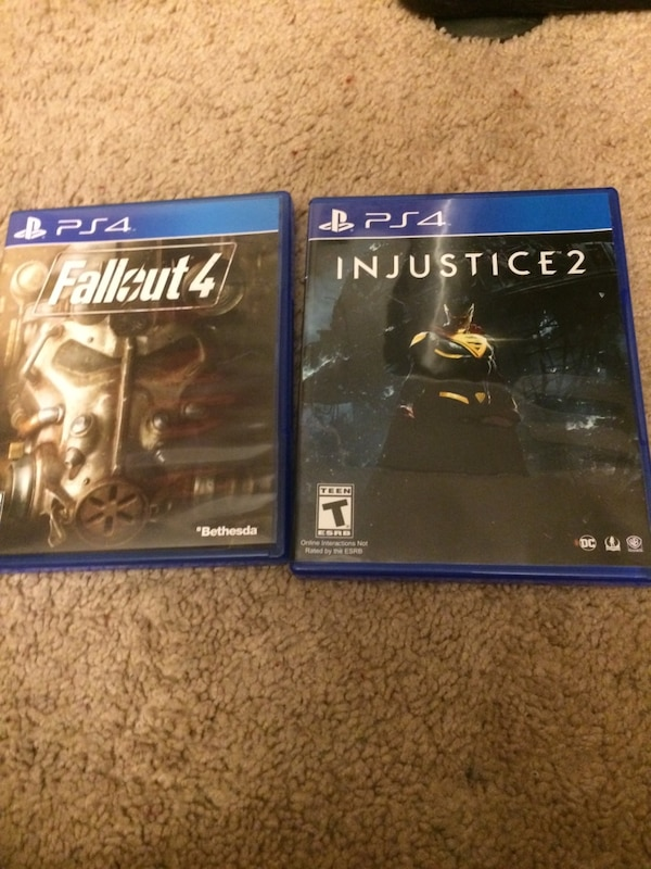 Ps4 games injustice and fall out 4