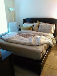 Queen bed, previously posted, additional pictures.