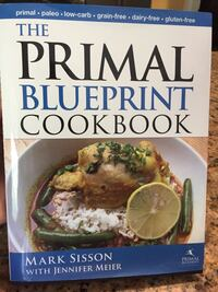 The primal blueprint cookbook by mark sisson with jennifer meier book Wilmington, 28409