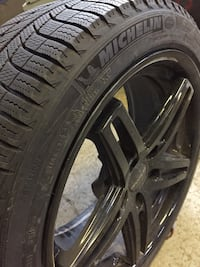 Mercedes E 400 series mags and winter tires