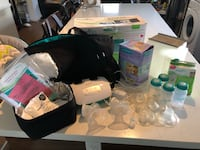 Basically New Breast pump set Port Coquitlam, V3C