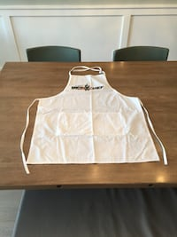 New white apron!