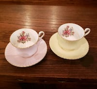 Pair of Paragon Tea Cups and Saucers  Montreal, H9H 1C4