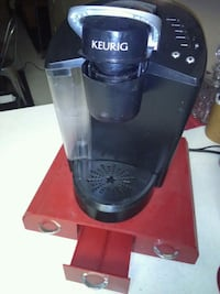 Keurig coffee maker and red k-cup shelf Las Vegas, 89103