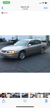 Chevrolet - Impala - 2004 Washington, 20020