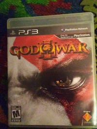 Sony PS3 God of War game case Toronto, M4C 1H6