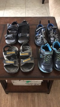 5.00 each Columbia, gap, sketchers and George London, N6H 2Y4