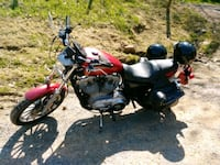 red and black cruiser motorcycle Bluefield, 24701