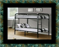 Twin bunkbed frame with 2 mattress Mount Rainier, 20712