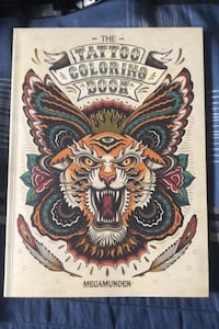 Tattoo Colouring Book Hamilton, L0R 1C0
