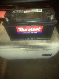 Duralast car battery 1000 cca