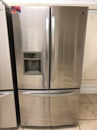 Refrigerator French door fridge 35 width 69 height 28 depth Los Angeles, 91411