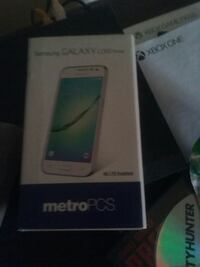 Metro pcs samsung galaxy core prime with case