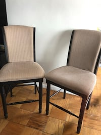 4 CHAIRS COASTER ONLY $ 250.00 EXCELLENT CONDITION for pickup in flushing  Washington, 20024