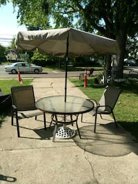 Price is firm ... small Bistro patio set