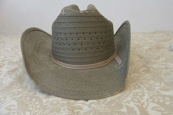 176be5eadc798 Used vintage texas DPS straw Hat 7 3 8 for sale in Buda - letgo