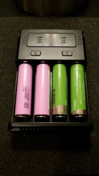 Vape battery charger with batteries  Arlington, 22204