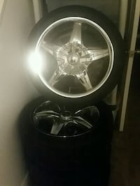 Tires and rims. x 17inch rims...tires are good ..l Ottawa