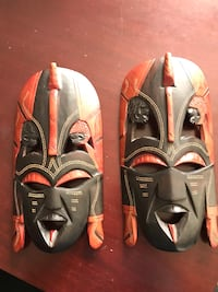 Wooden Masks (2 Masks) 29 km