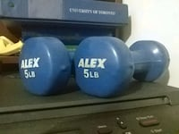 5 Pound Dumbbells (2 Peices) Mississauga, L5R 2W4