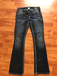 Silver jeans size 25/33 London, N5V 2T4