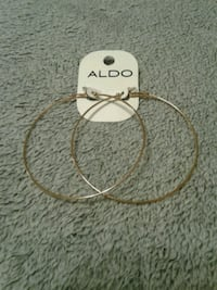 Aldo Gold Hoop Earrings (3 inches) - New With Tags Las Vegas, 89129