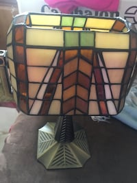 Tiffany Lamp w/ Tealights Woodbridge, 22192