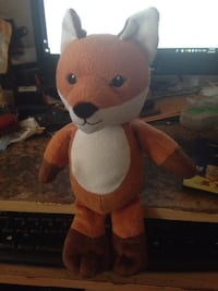 Fox Cuddly Soft Toy from Kinder Chocolate.  Guildford