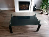 Excellent condition Granite glass coffee table Port Coquitlam, V3B 0B6